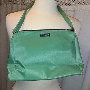 Kate Spade Purse Shoulder Bag Medium Green Nylon d
